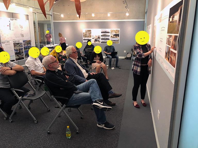 Bob Borson and Texas Society of Architects 2018 President Mike McGlone