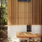 Modern Wood Rainscreen