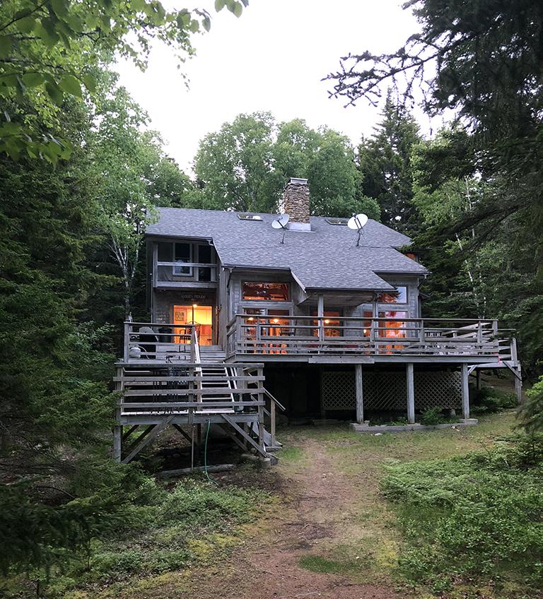Cabin Rental in Main - Swan's Island - photo by Bob Borson