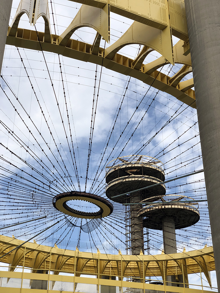 New York World's Fair Philip Johnson Pavilion - photo by Bob Borson