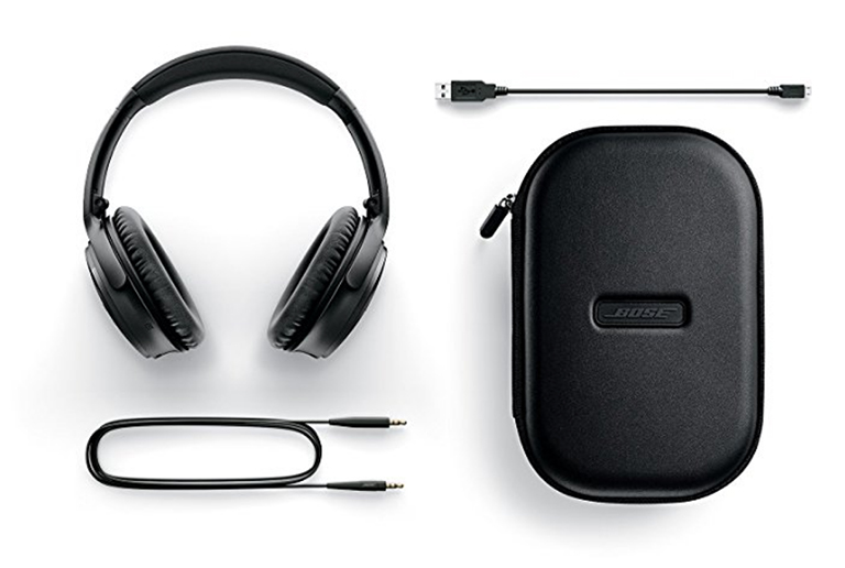 Bose Quiet Comfort 35 noise canceling headphones