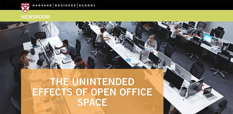 The Unintended Effects of Open Office Space