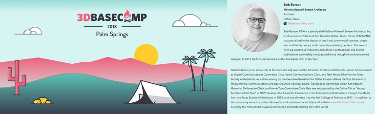 Bob Borson - Sketchup Basecamp 2018