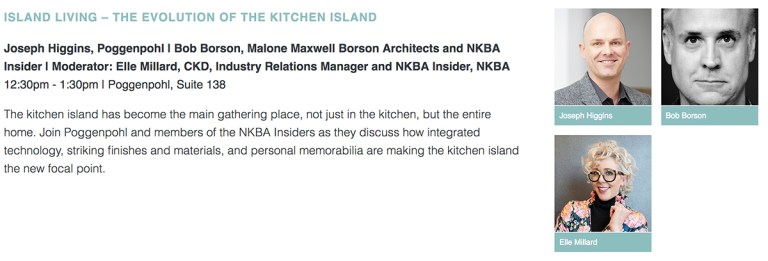 Design Chicago - Island Living - The Evolution of the Kitchen Island