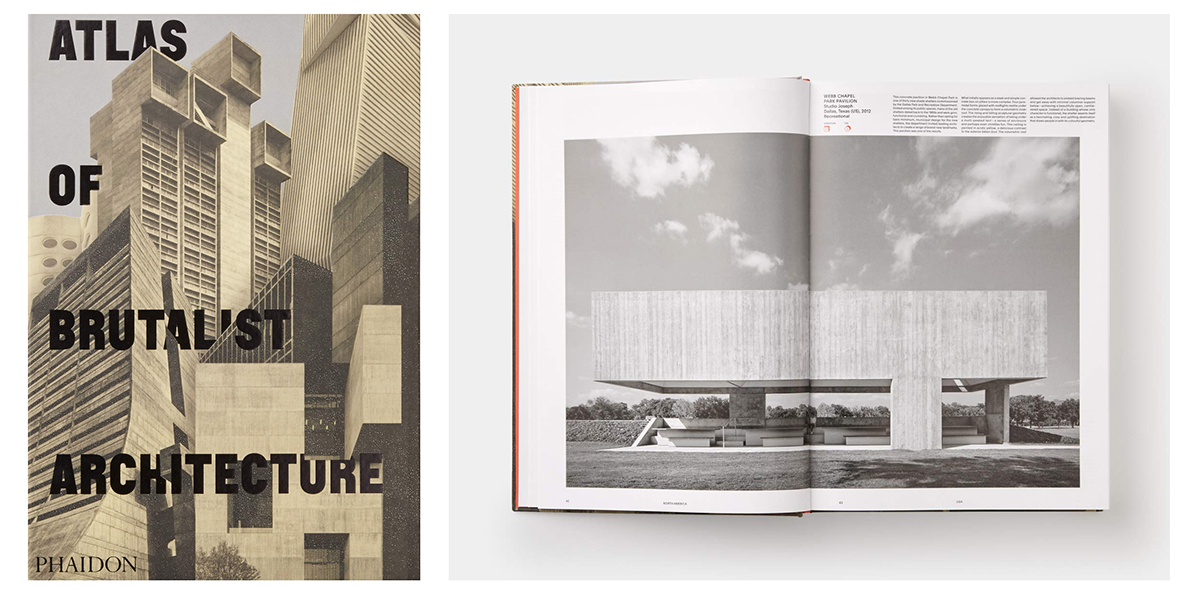 Architecture Books - Atlas of Brutalist Architecture