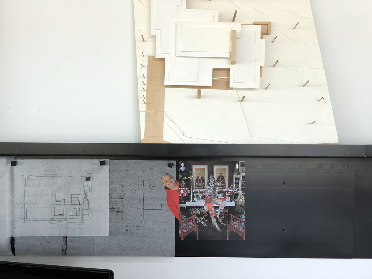Architecture Studio - metal shelf of awesomeness