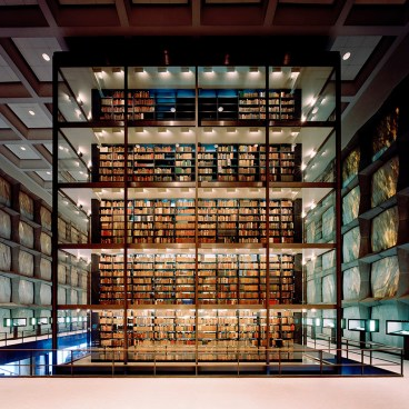 Beinecke Library - architect Gordon Bunshaft, photo by Poul Ober