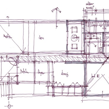 Architectural Sketch Series Schematic Design 04 by Bob Borson