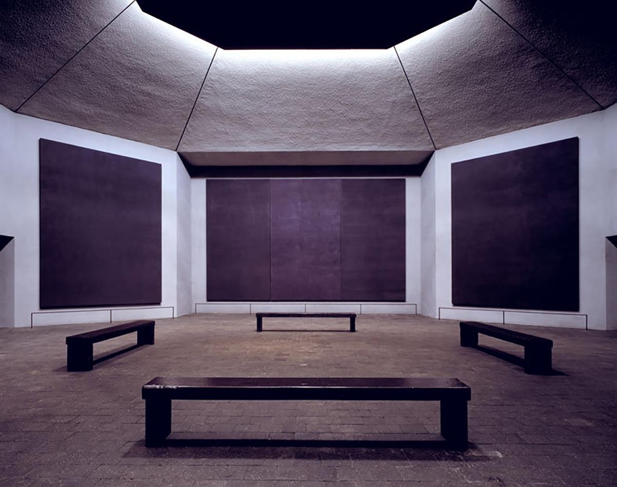 Rothko Chapel - Interior