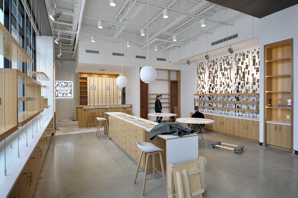 Oculus Retail Interior - By Dallas Architect Bob Borson