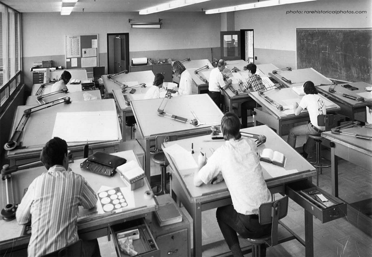 old school drafting room - Ep 075: Should Architects do it All?