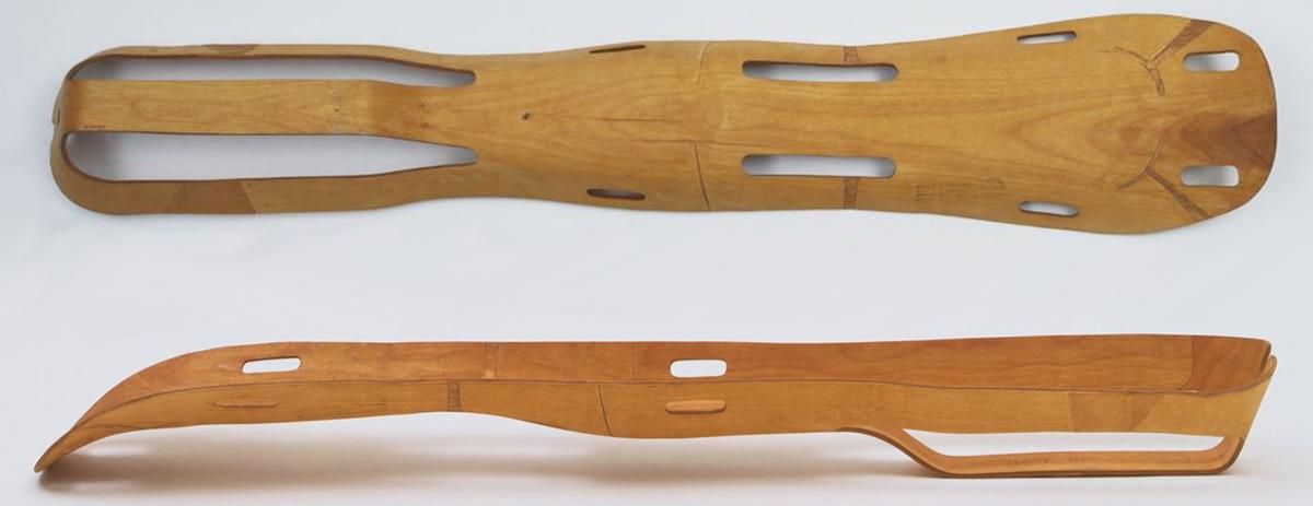 Eames Leg Splint - Image Courtesy of MOMA
