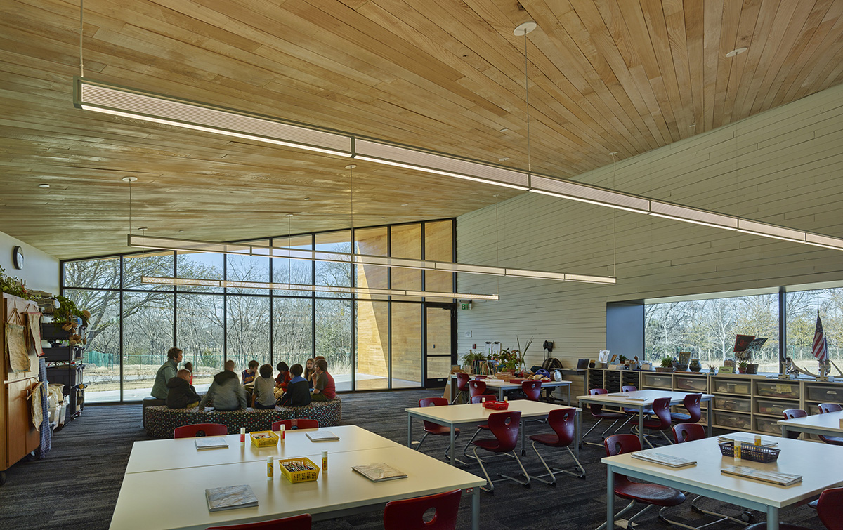 Marlon Blackwell Architects Lamplighter Innovation Lab 6