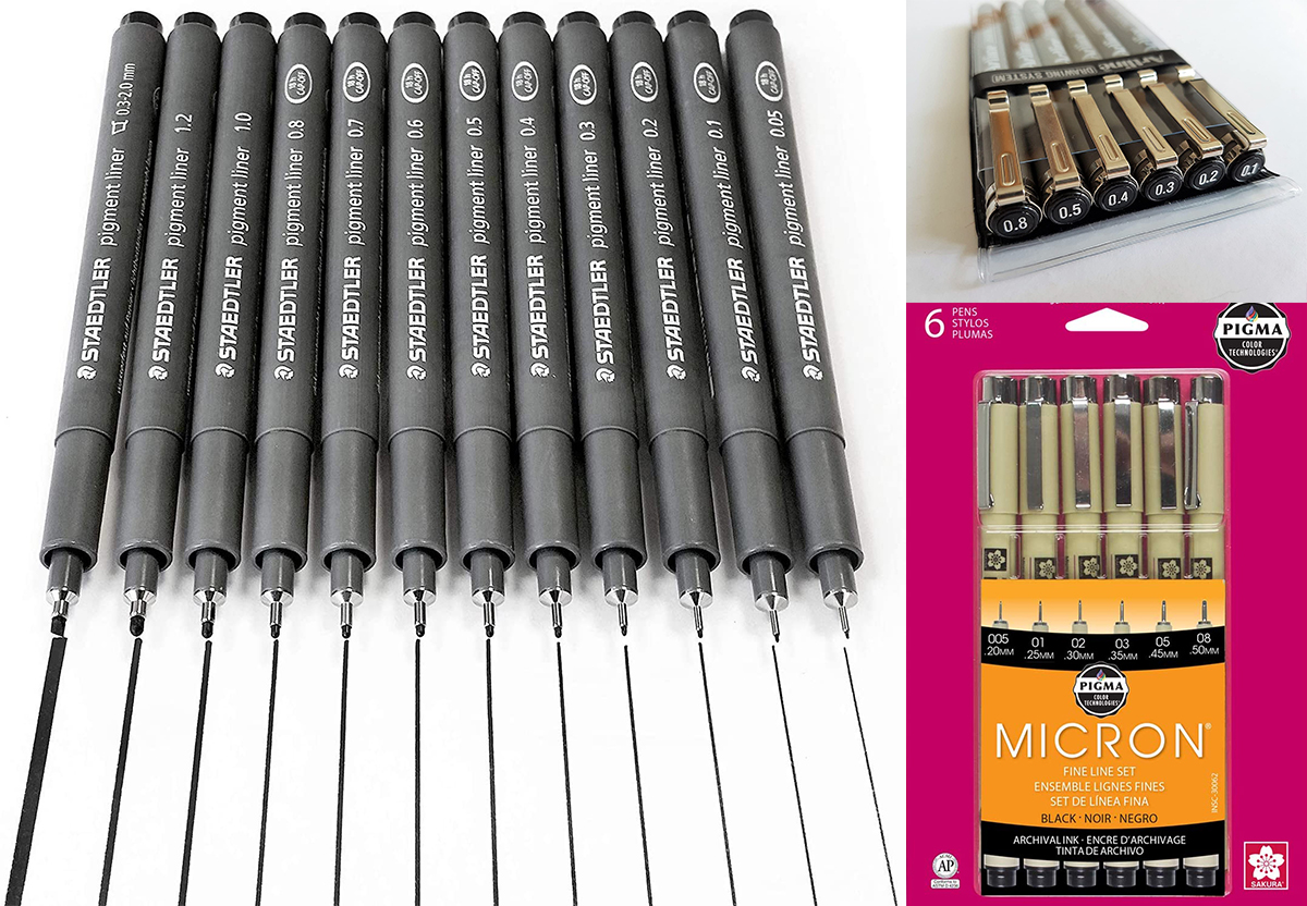 Architectural Drawing Pen Sets