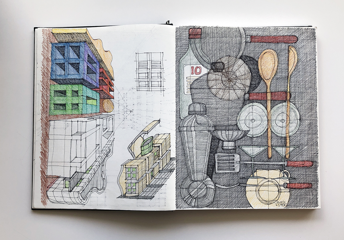 Michael Malone sketchbook - Art
