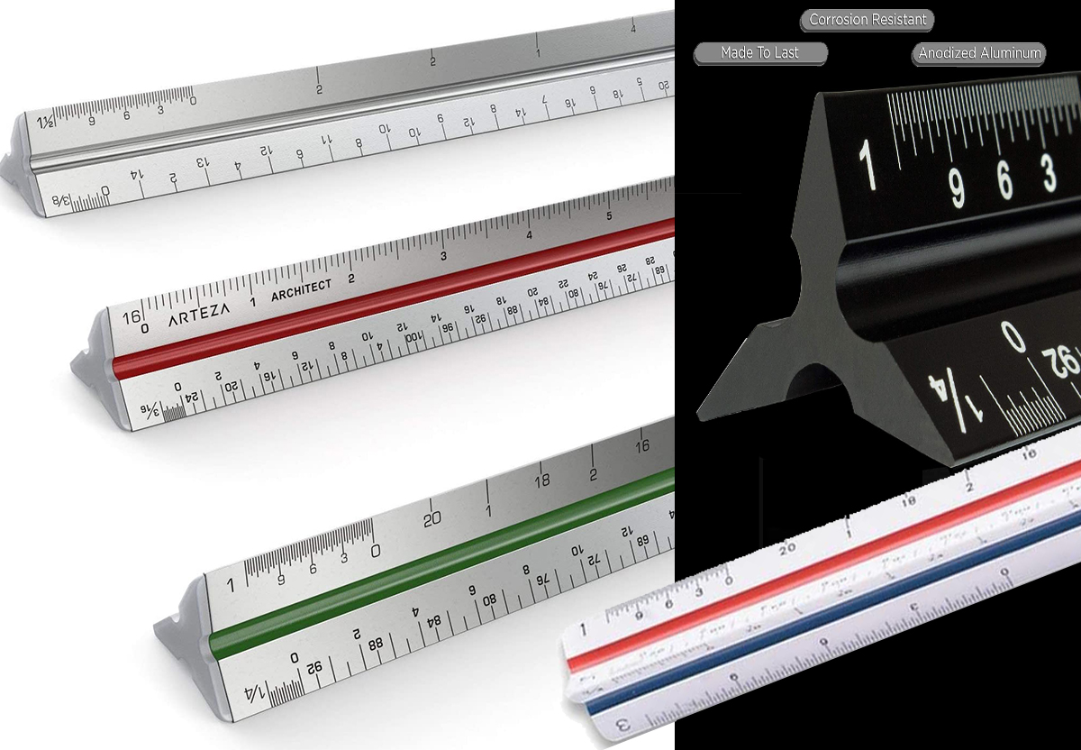 Architectural Student Scales