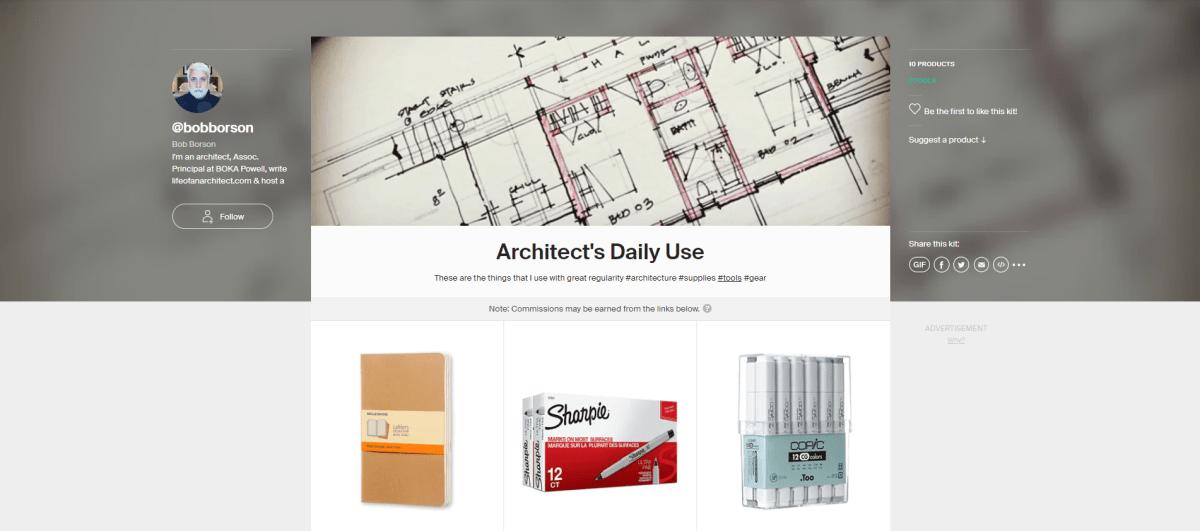 Architect's Daily Use Kit