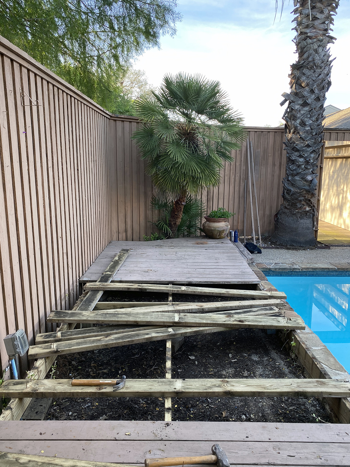 Deck Demolition - Bob Borson