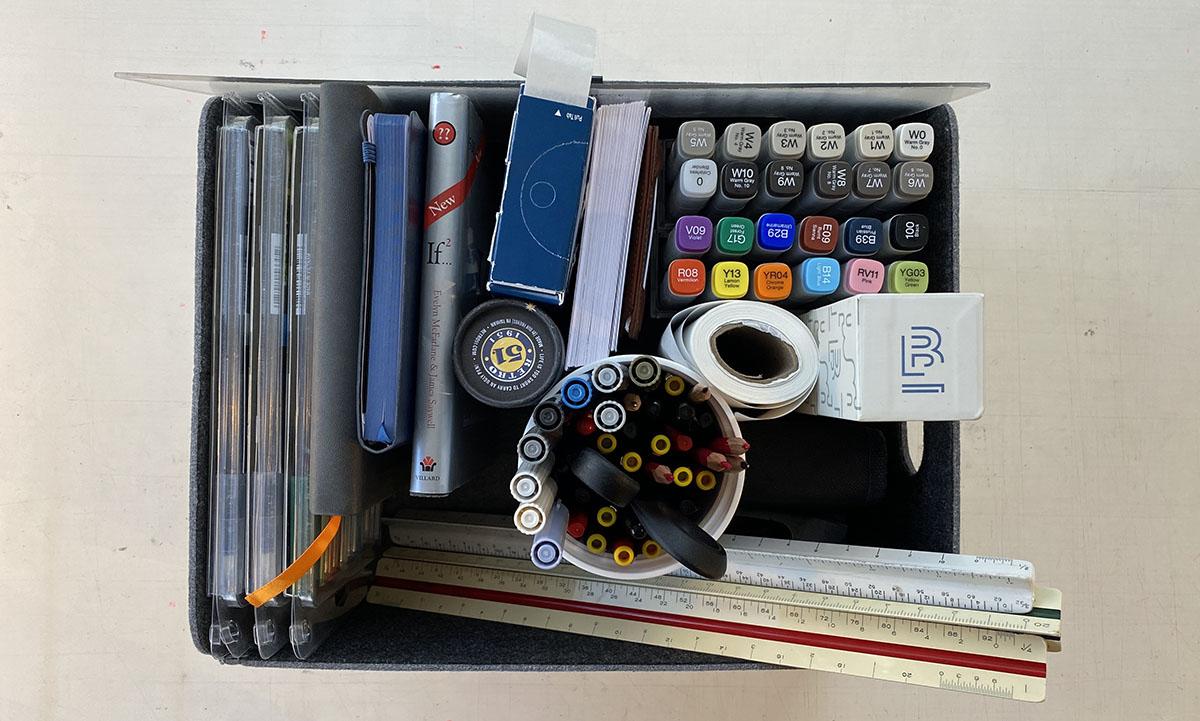 Bob Borson - Architect's Desk - Pen Container