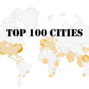 Life of an Architect 2020 Top 100 Cities Visitors