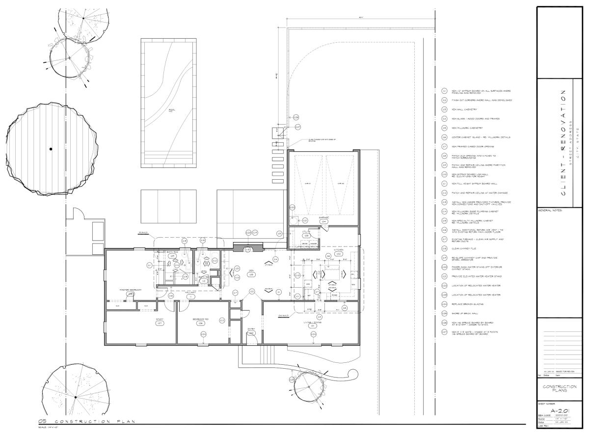 Bob Borson - My First House Plan A201