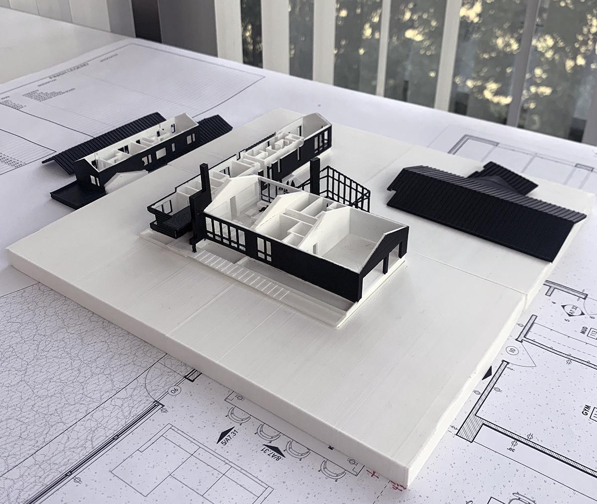 3D Model Disassembled - Printing Architectural 3D Models