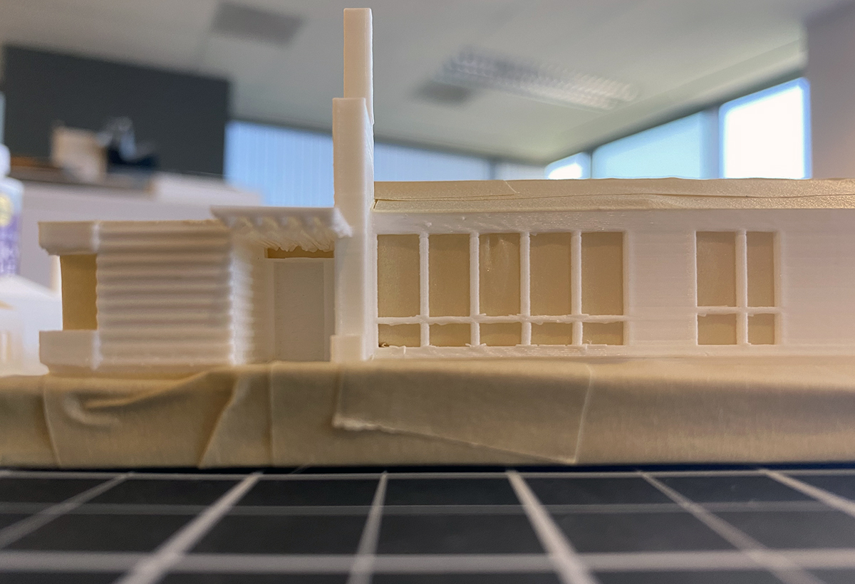 3D Printing Front Elevation 01