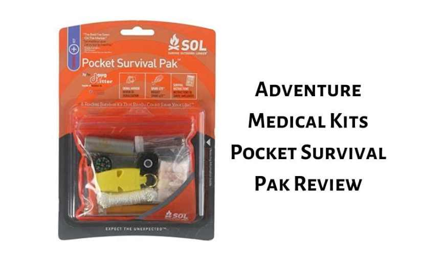 Mini First-Aid Kit: Adventure Medical Kits Pocket Survival Pak Review