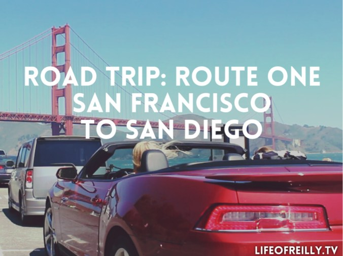 Route One itinerary | Three days | San Francisco to San Diego