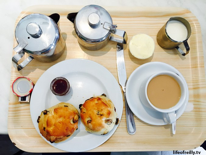 A cream tea is the ONLY way to finish a hike in England!