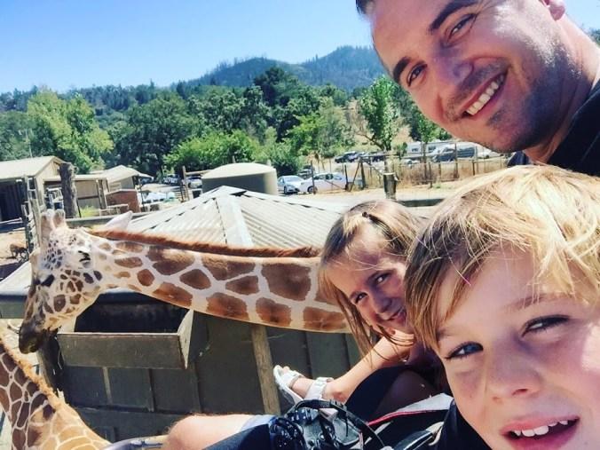 On safari in Sonoma County, California.