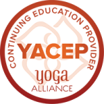 Yoga Alliance Continuing Education Provider YACEP