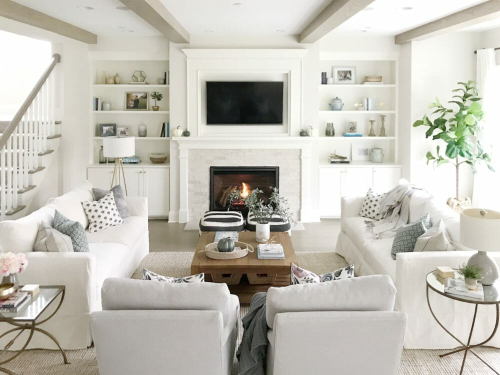 10 Large Living Room Ideas To Fall In Love With: Open Concept Living Room
