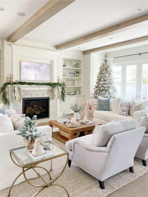 Christmas Living Room Style | Life On Cedar Lane