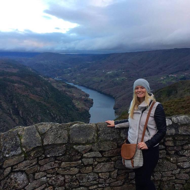 galicia, canyon, winter, hike