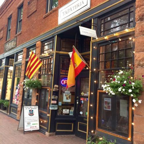 Spanish Tapateria in Old Colorado City