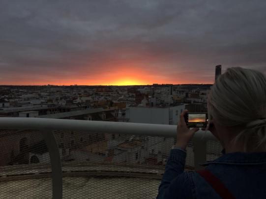 Golden Hour in Seville