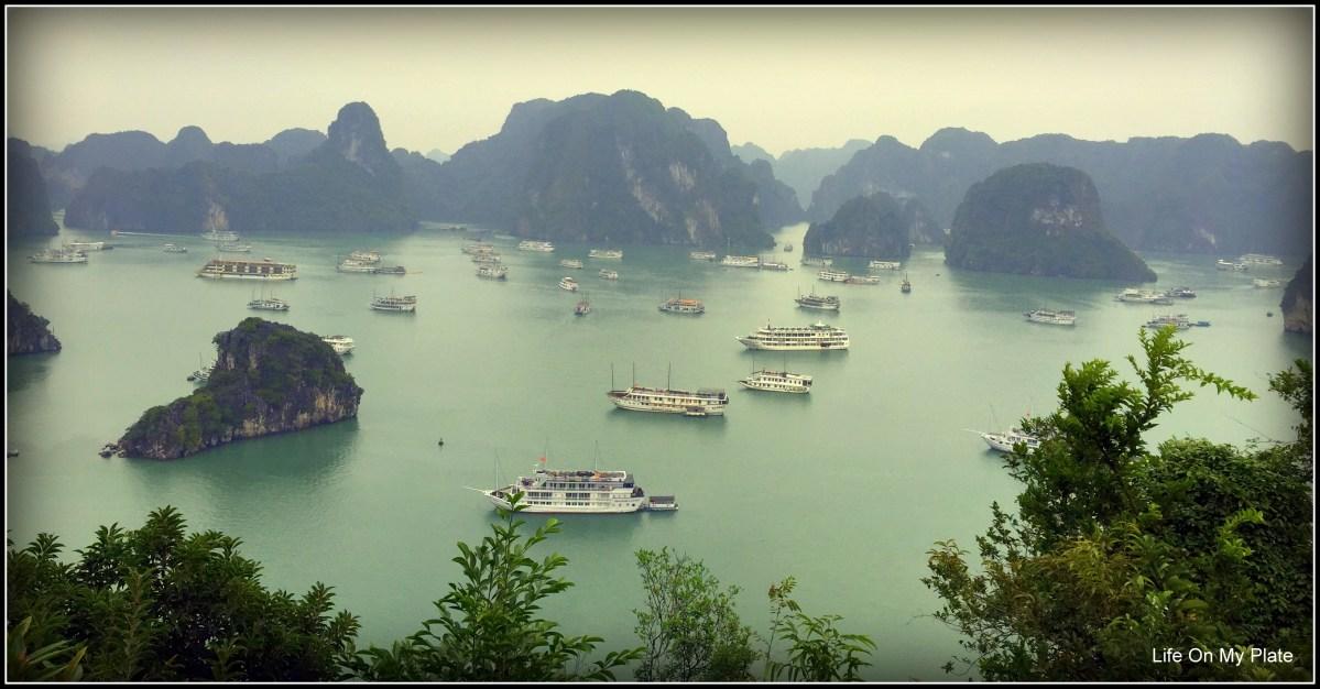 Cruising Halong Bay in Vietnam