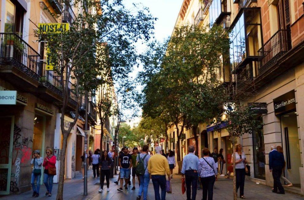 Madrid's shopping