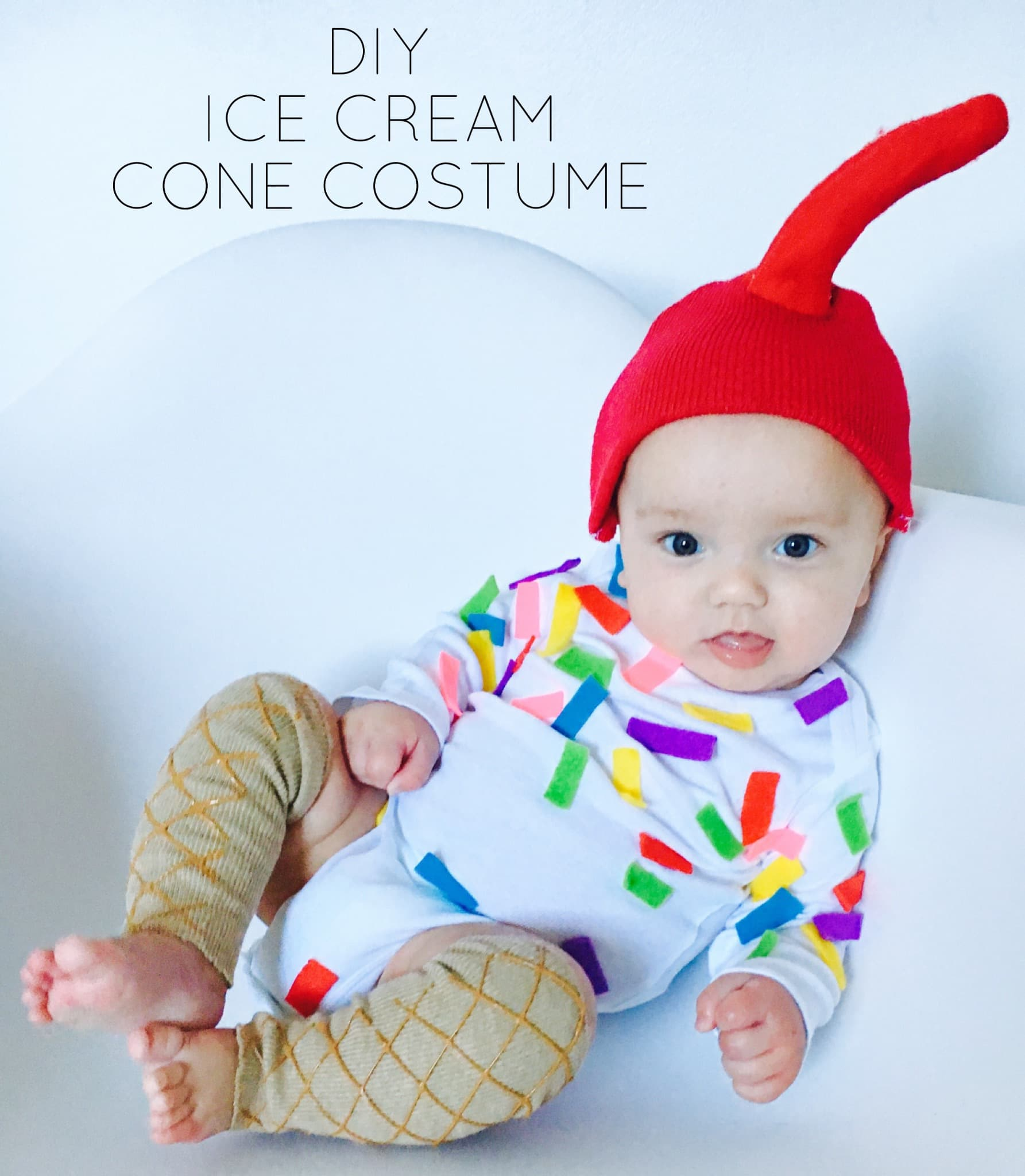 DIY Ice Cream Cone Costume