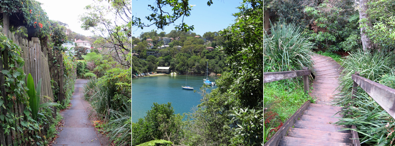 Access to Sirius Cove from Mosman Bay - Curraghbeena Rd & path/stairs