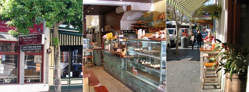 Cafe's on Glebe Pt Road