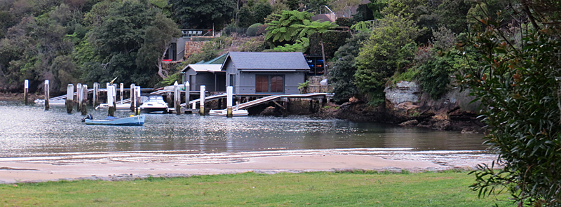 Sirius Cove Boat Sheds