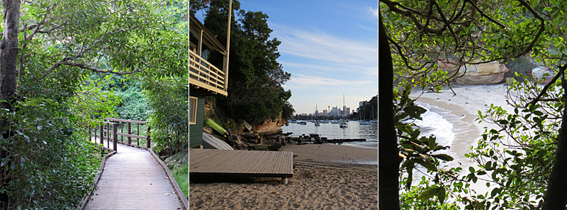 Sirius Cove to Taronga Zoo bushwalk