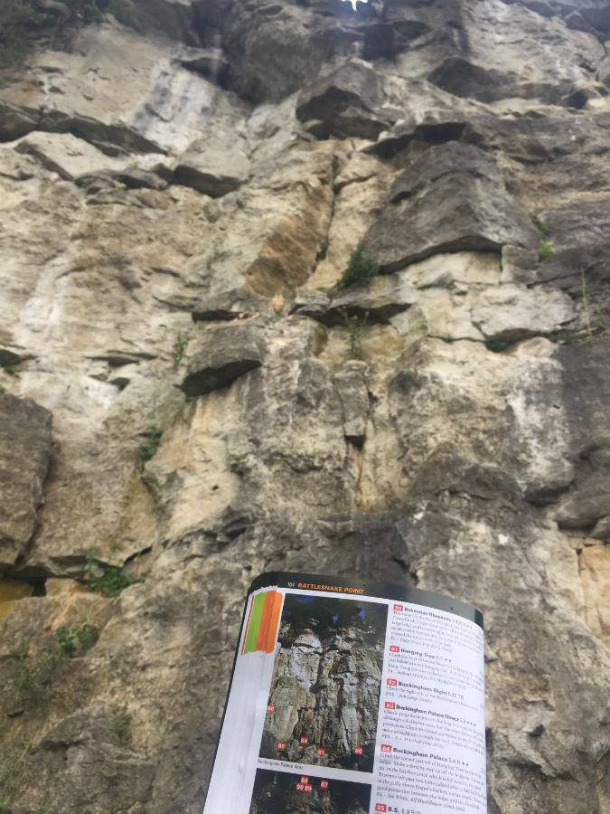 Outdoor Rock Climbing in Ontario 4
