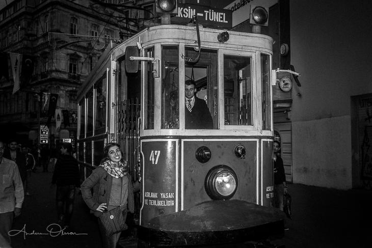 Tram in Isantbul