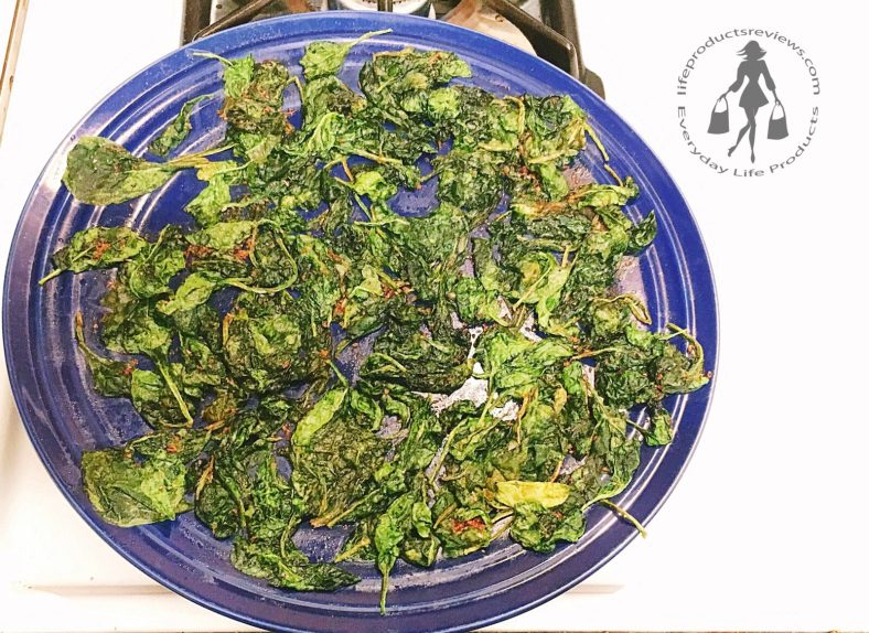 Crispy-spinach-season-baked-microwave-easy-recpie