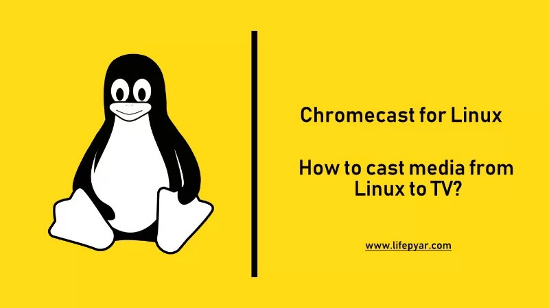 Chromecast for Linux | How to Cast from Linux to TV?