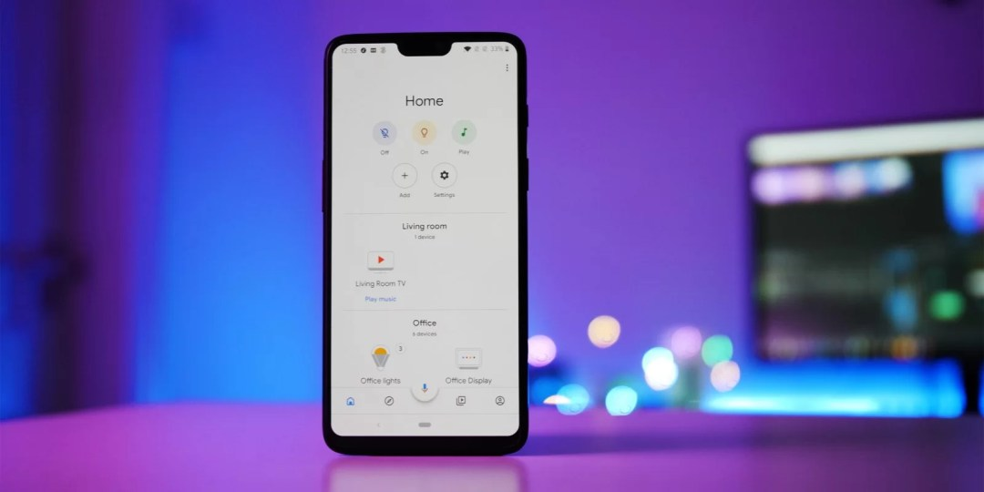 Google Home on iPhone