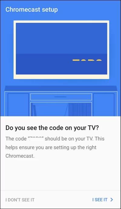 Find Code on TV